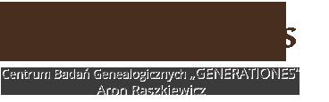 Centrum Badań Genealogicznych – Aron Raszkiewicz